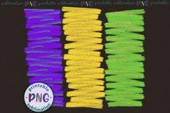 Mardi Gras brush strokes background Sublimation design png Product Image 3