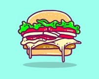 Junk Food Vector Designs Bundle Product Image 2