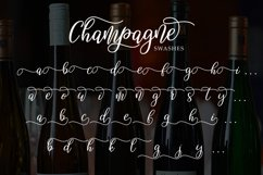 Champagne script Product Image 6