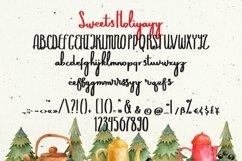 Web Font Sweets Holiyayy - Christmas Font Product Image 6