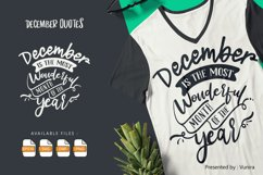 10 December Bundle | Lettering Quotes Product Image 4
