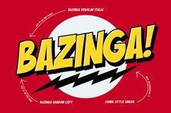 Buzinga! | Comic Layered Font Product Image 2