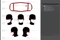 Manufactured Masks - Vector Mockup Template Product Image 4
