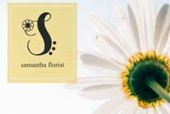 Monogram Flower Product Image 3