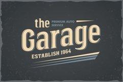 Bourbon vintage font Product Image 3