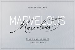 The Marvelous Font Duo Product Image 1
