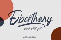 Eberthany Brush Script Product Image 1