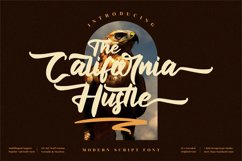 The California Hustle - Modern Script Font Product Image 1