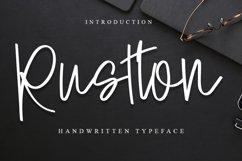 Rustton |A Handwritten Font Product Image 1