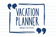 Vacation Planner Product Image 1