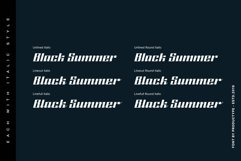 Black Summer Font Family Product Image 4