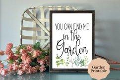 Editable Garden Planner, Printable Garden Planner Product Image 4