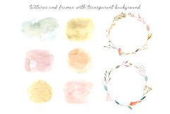Dried Flowers. Watercolor Collection. Patterns and Cliparts Product Image 3