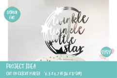 Twinkle Twinkle SVG   Cake Topper SVG Product Image 3