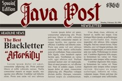Afterkilly - New Blackletter Product Image 2
