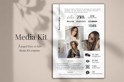 Media Kit Template, 3 Pages, Canva Product Image 4