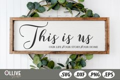 This Is Us SVG, Family SVG Product Image 1