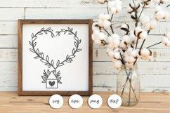 Home SVG - Farmhouse SVG - Love SVG Product Image 3