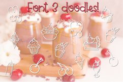 Cherry on Top - A Font Trio with Doodles Product Image 4
