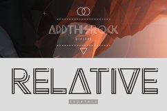 Relative Typeface Product Image 1
