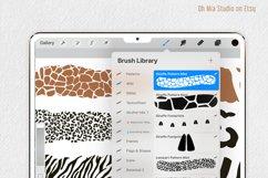 PROCREATE Animal Pattern Brushes | Wild Animals Footprint Product Image 3