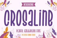Playful Sans - Crosaline Font Product Image 1