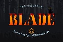 BLADE - HALLOWEN FONT! Product Image 1