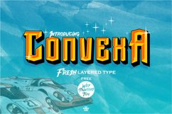 Convexa Typeface Product Image 1