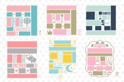 Baby Birth Announcement Template Bundle Product Image 2