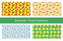 Summer Fruit Seamless Pattern Vol. 1 Product Image 1