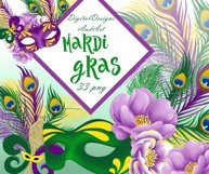 Mardi gras clipart Product Image 1