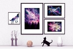 Watercolor Pink Nebula Collection Product Image 5