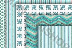 Teal Digital Paper Pack Product Image 2