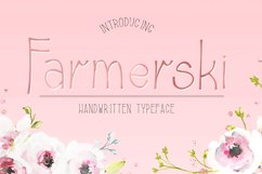 Farmerski font Product Image 1