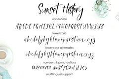 Sunset History-freestyle font Product Image 2