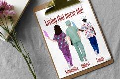 Nurses clipart,Medical clipart,Custom Nurse,Doctor clipart Product Image 6