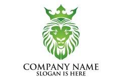 Lion face logo emblem template for business design Product Image 4