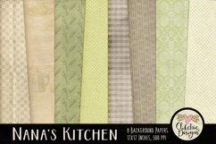 Nana's Kitchen Digital Scrapbook Kit Product Image 5