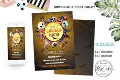 Halloween invitation, Party Halloween, 31 October, download Product Image 1