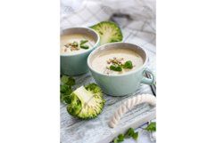 """Food photo """"Broccoli CreamSoup"""" - tasty and helpful lunch Product Image 2"""