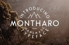 Montharo Typeface + Vector Product Image 1