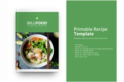 Recipe eBook Template Editable Using Ms Publisher Product Image 1