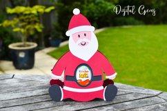 Santa, Christmas egg holder design SVG / DXF / EPS files Product Image 3