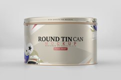 Round Tin Can Mockup Product Image 3