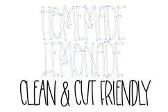Homemade Lemonade - A Swirly Tall Font Product Image 2