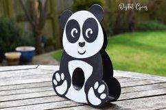 Panda Easter egg holder design SVG / DXF / EPS Product Image 4