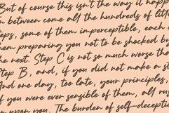 Bolognaise Monoline Handwritten Font Product Image 6