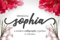 sophia script Product Image 1