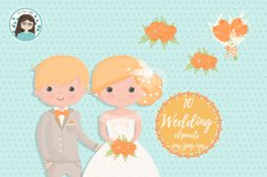 Wedding characters clipart Product Image 5