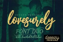 Lovesurely Font Duo Product Image 1